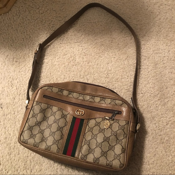 29708ba7f Gucci Bags | Vintage Shoulder Bag | Poshmark